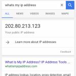 IP address tidak bisa dijadikan acuan lokasi