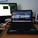 setup meja kerja di rumah